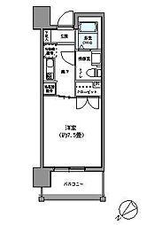 パークアクシス博多駅南[12階]の間取り