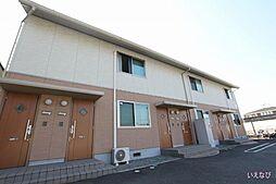 広島県福山市東川口町5丁目の賃貸アパートの外観