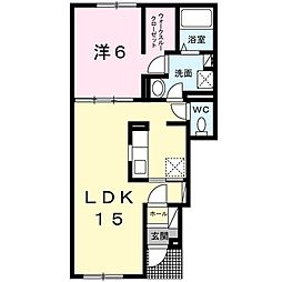 テト[1階]の間取り
