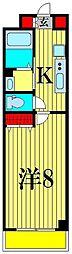 セナリオフォルム馬橋V[3階]の間取り