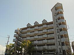 愛媛県松山市南江戸1丁目の賃貸マンションの外観