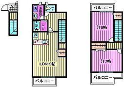 ゴーチェ[2階]の間取り