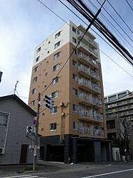 北海道札幌市北区北十七条西3丁目の賃貸マンションの外観