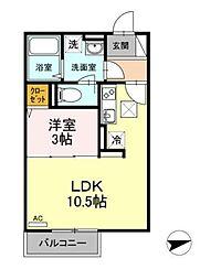 (仮称)D-room亀井野[102号室]の外観