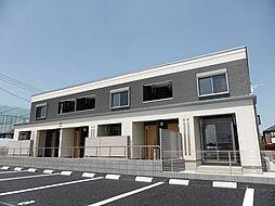 東京都小平市花小金井3丁目の賃貸アパートの外観