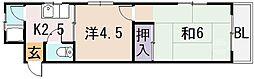 陽光園マンション[3階]の間取り