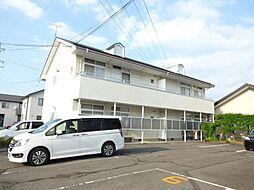 長野県長野市吉田5丁目の賃貸アパートの外観