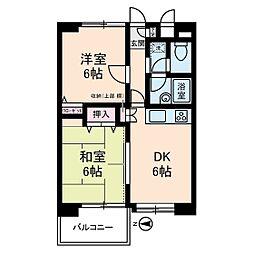 カピトール川崎I[5階]の間取り