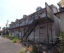 京都府城陽市富野南清水の賃貸アパートの外観