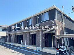 JR徳島線 鮎喰駅 徒歩5分の賃貸アパート