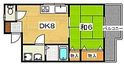イシヅカハイツ[2階]の間取り