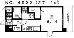 ヴィラルーチェ[2階]の間取り