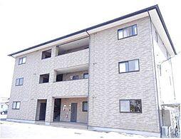 岡山県岡山市北区西市の賃貸マンションの外観