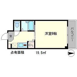 メゾンノーブル[3階]の間取り