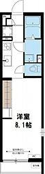 リブリ・スペースS[105号室号室]の間取り