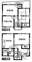 [一戸建] 埼玉県川口市大字小谷場 の賃貸【/】の間取り