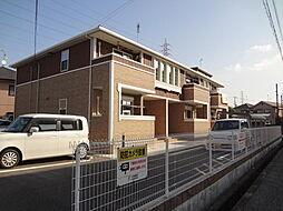 兵庫県加古川市別府町新野辺北町6丁目の賃貸アパートの外観