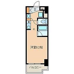 オルト春日井[207号室]の間取り