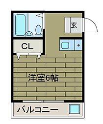 エリーズハウス[2階]の間取り