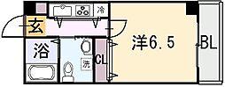 Celeb布施東[3階]の間取り