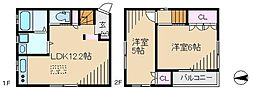 [一戸建] 東京都荒川区西日暮里4丁目 の賃貸【/】の間取り