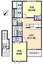 Dream2[2階]の間取り