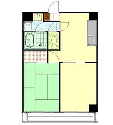 プライムハウス(賃料大幅改定しました)[5階]の間取り