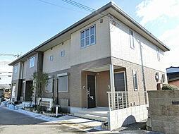 滋賀県甲賀市水口町暁の賃貸アパートの外観