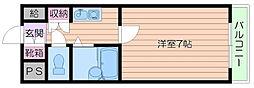 あべの恵寿ビル[6階]の間取り