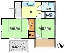 [一戸建] 埼玉県越谷市東大沢5丁目 の賃貸【/】の間取り