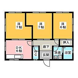 [一戸建] 静岡県焼津市柳新屋 の賃貸【静岡県/焼津市】の間取り