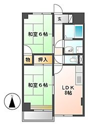 TO-BE[8階]の間取り