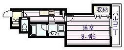 仮称)新築河内国分マンション[2階]の間取り