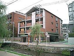 京都府京都市東山区梅宮町の賃貸マンションの外観