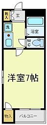ロイヤルヴィラ昭和町[3階]の間取り