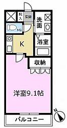アネックス神明[2階]の間取り