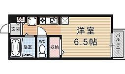 セジュール比叡[201号室号室]の間取り