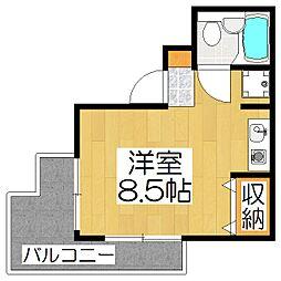 上賀茂FLAT[3階]の間取り