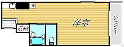 トップ江戸川橋[4階]の間取り