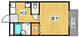 トランクウィル[2階]の間取り