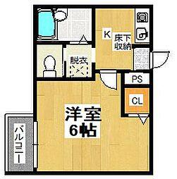 コロネード[3階]の間取り