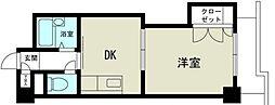 新大阪グランドハイツ北[8階]の間取り