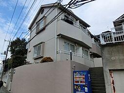 東京都町田市玉川学園8の賃貸アパートの外観