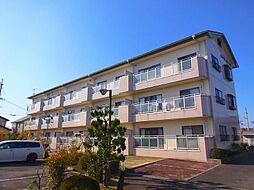 滋賀県近江八幡市中小森町の賃貸マンションの外観