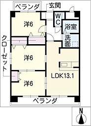 マイズフォレスト[5階]の間取り
