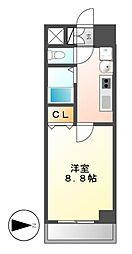 パルティール覚王山[9階]の間取り