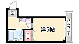 OLD KOBE[4階]の間取り
