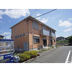 奈良県生駒郡斑鳩町服部1丁目の賃貸アパートの外観