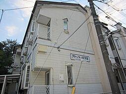 埼玉県新座市栗原6丁目の賃貸アパートの外観