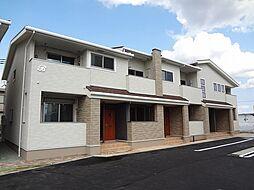 徳島県板野郡藍住町奥野字矢上前の賃貸アパートの外観